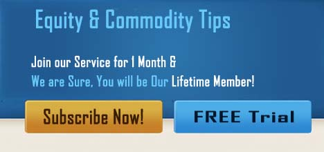Equity & Commodity Tips - Join Our Service for 1 Month & We are Sure, You will be Our Lifetime Member!